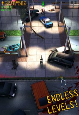 Screenshots of the Running Dead game for iPhone, iPad or iPod.