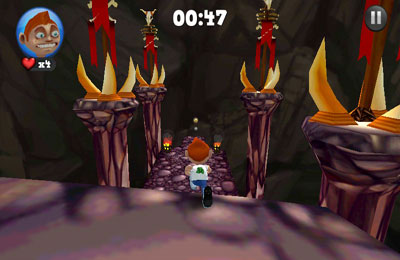Capturas de pantalla del juego Running Fred para iPhone, iPad o iPod.