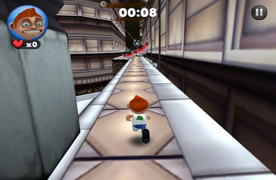 Screenshots of the Running Fred game for iPhone, iPad or iPod.