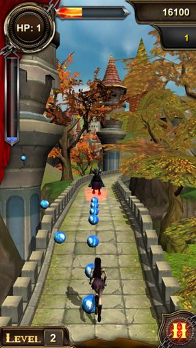Screenshots do jogo Running quest para iPhone, iPad ou iPod.