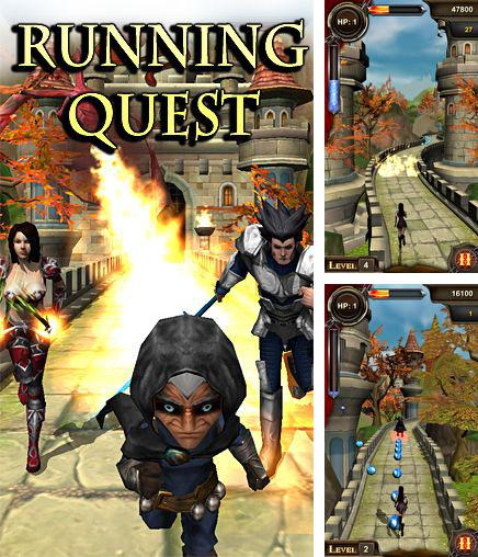 In addition to the game Glow jeweled for iPhone, iPad or iPod, you can also download Running quest for free.