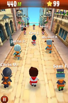 Игра Running with Friends Paid для iPhone