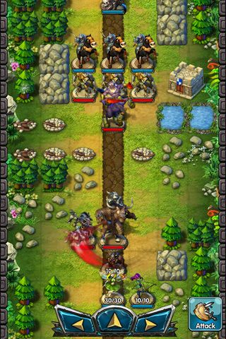 Capturas de pantalla del juego Rush of rune para iPhone, iPad o iPod.