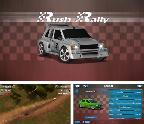 In addition to the game Throb of encounters for iPhone, iPad or iPod, you can also download Rush rally for free.