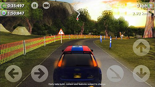 Descarga gratuita de Rush rally 2 para iPhone, iPad y iPod.