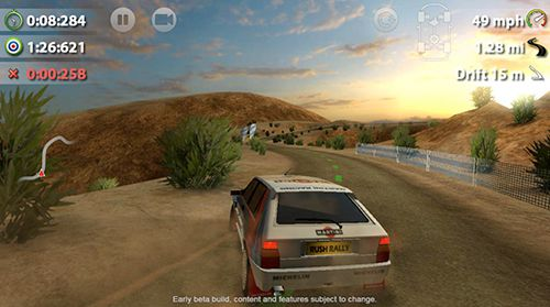 Capturas de pantalla del juego Rush rally 2 para iPhone, iPad o iPod.