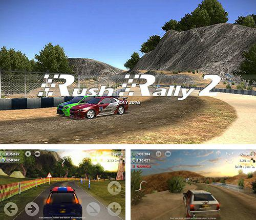 Download Rush rally 2 iPhone free game.