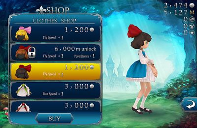 Download Rushing Alice iPhone free game.