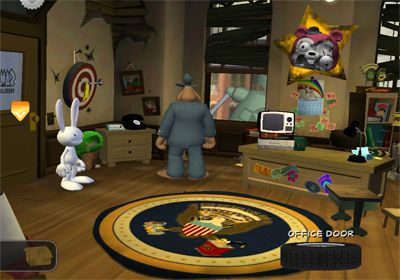 Screenshots vom Spiel Sam & Max Beyond Time and Space. Episode 1.  Ice Station Santa für iPhone, iPad oder iPod.