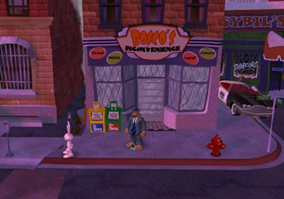 Геймплей Sam & Max Beyond Time and Space Episode 2.  Moai Better Blues для Айпад.