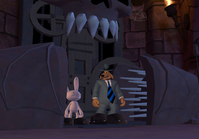 Descarga gratuita de Sam & Max Beyond Time and Space Episode 3.  Night of the Raving Dead para iPhone, iPad y iPod.