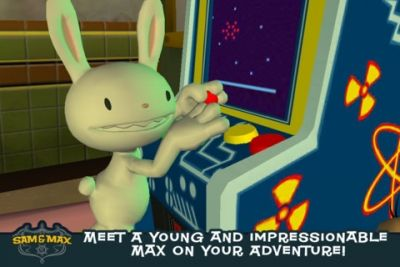 Capturas de pantalla del juego Sam & Max Beyond Time and Space Episode 4. Chariots of the Dogs para iPhone, iPad o iPod.