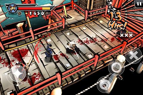 Download Samurai 2: Vengeance iPhone free game.