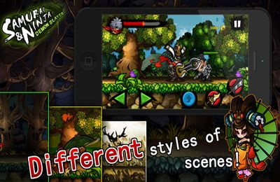 Download Samurai And Ninja – Demon Slayer iPhone free game.