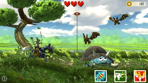 Screenshots of the Samurai Santaro game for iPhone, iPad or iPod.