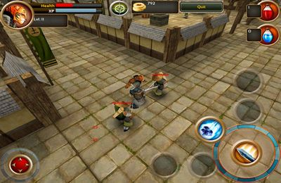 Descarga gratuita de Samurai Tiger para iPhone, iPad y iPod.