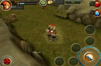 Screenshots of the Samurai Tiger game for iPhone, iPad or iPod.