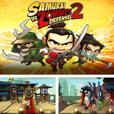 In addition to the game Zombie highway for iPhone, iPad or iPod, you can also download Samurai vs Zombies Defense 2 for free.