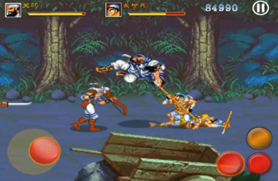 Screenshots of the Sango Fight game for iPhone, iPad or iPod.