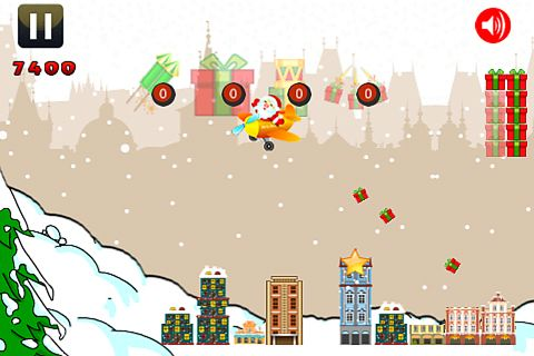 Screenshots vom Spiel Santa attacks für iPhone, iPad oder iPod.