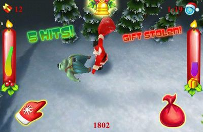 Download Santa vs Zombies 3D iPhone free game.