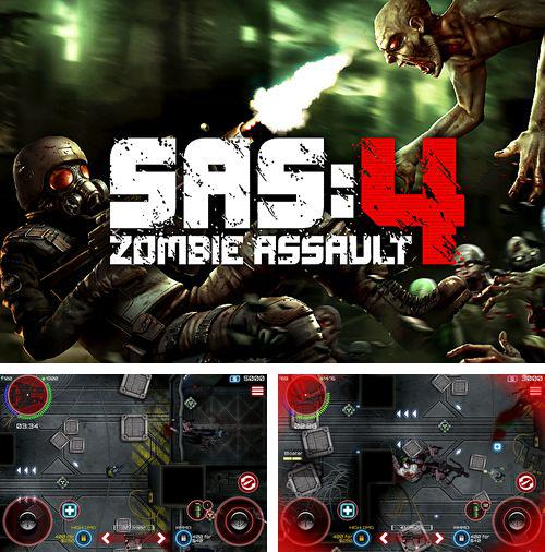 In addition to the game Hero Revolt for iPhone, iPad or iPod, you can also download SAS: Zombie Assault 4 for free.