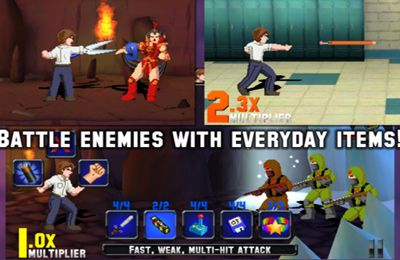 Screenshots of the Saturday Morning RPG Deluxe game for iPhone, iPad or iPod.