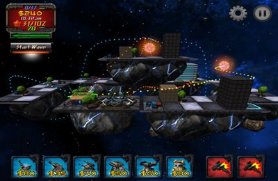 Screenshots of the Saturn Ring game for iPhone, iPad or iPod.