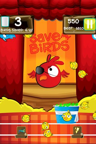 Screenshots of the Save my birds 2 game for iPhone, iPad or iPod.