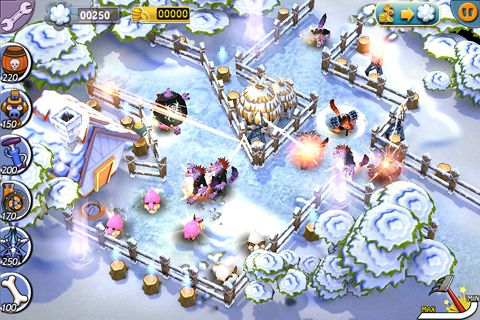 Écrans du jeu Save our sheep pour iPhone, iPad ou iPod.