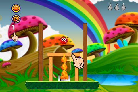 Screenshots of the Save the little devil: The beginning game for iPhone, iPad or iPod.