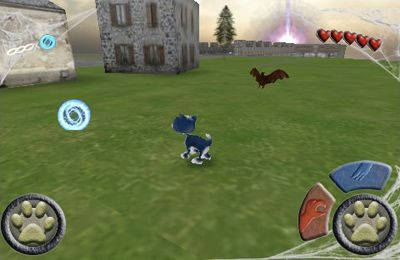 Capturas de pantalla del juego Scaredy Cat 3D Deluxe para iPhone, iPad o iPod.