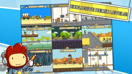 Free Scribblenauts Remix download for iPhone, iPad and iPod.