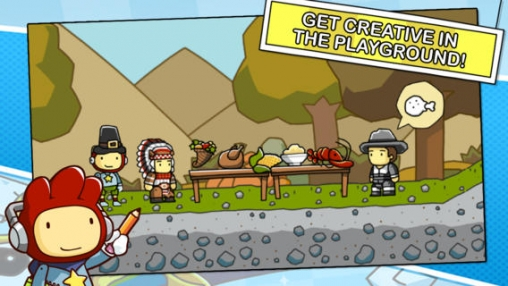 Screenshots of the Scribblenauts Remix game for iPhone, iPad or iPod.