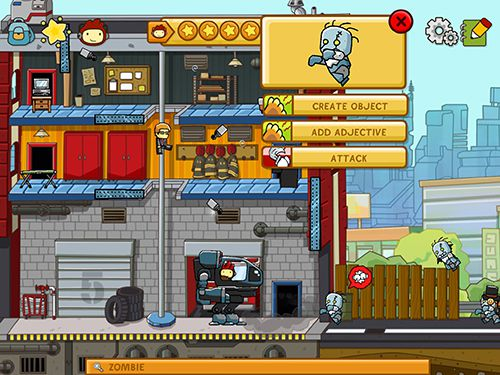 Download Scribblenauts: Unlimited iPhone free game.