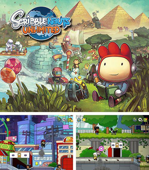 In addition to the game Doodle Rush for iPhone, iPad or iPod, you can also download Scribblenauts: Unlimited for free.