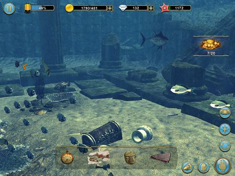 Screenshots of the Scuba diver adventures: Beyond the depths game for iPhone, iPad or iPod.