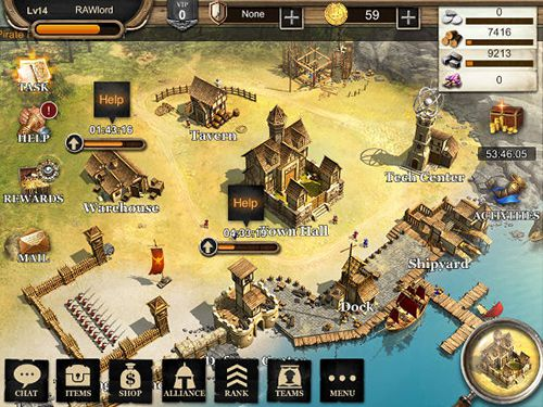 Screenshots of the Sea adventure: Kingdom of glory game for iPhone, iPad or iPod.