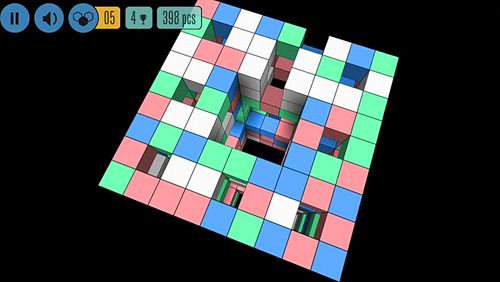 Screenshots do jogo Sea of squares para iPhone, iPad ou iPod.