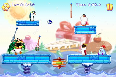 Screenshots of the Seabirds game for iPhone, iPad or iPod.