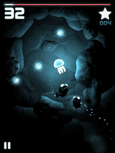 Descarga gratuita del juego Mar luminoso para iPhone.