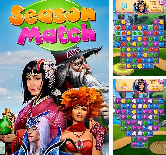 In addition to the game World boxing challenge for iPhone, iPad or iPod, you can also download Season match puzzle adventure for free.