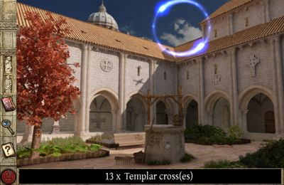 Screenshots vom Spiel Secrets of the Vatican - Extended Edition für iPhone, iPad oder iPod.