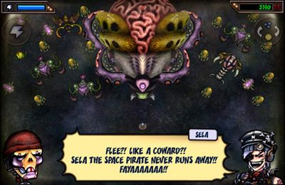 Free Sela The Space Pirate download for iPhone, iPad and iPod.