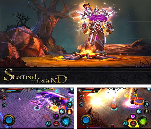 In addition to the game Knight Rider for iPhone, iPad or iPod, you can also download Sentinel legend for free.