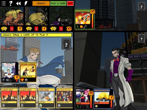 Screenshots vom Spiel Sentinels of the Multiverse für iPhone, iPad oder iPod.