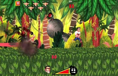Capturas de pantalla del juego Serious Sam Kamikaze Attack! para iPhone, iPad o iPod.