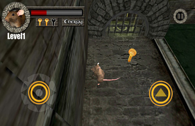 Screenshots vom Spiel Sewer Rat Run 3D! Plus für iPhone, iPad oder iPod.