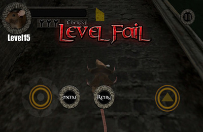 Capturas de pantalla del juego Sewer Rat Run 3D! Plus para iPhone, iPad o iPod.