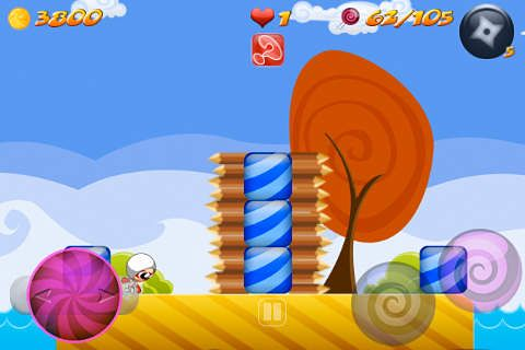 Screenshots do jogo Shadow candy: Sugar rush! para iPhone, iPad ou iPod.